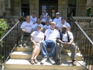 412 Madison St. - Volunteers from Harris Serve and AECom