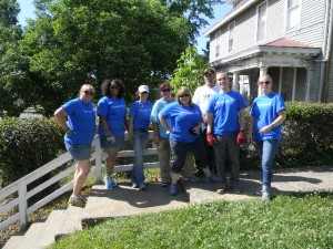 Carey  House - Volunteers from Genworth