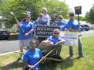 Rockbridge Apartments - Volunteers from Genworth