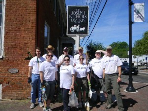 The Western Hotel - Volunteers from AECom